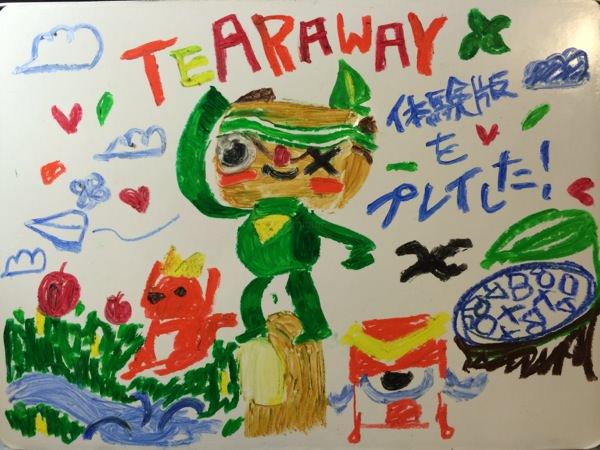 Tearaway〜はがれた世界の大冒険〜体験版をプレイ!レビュー