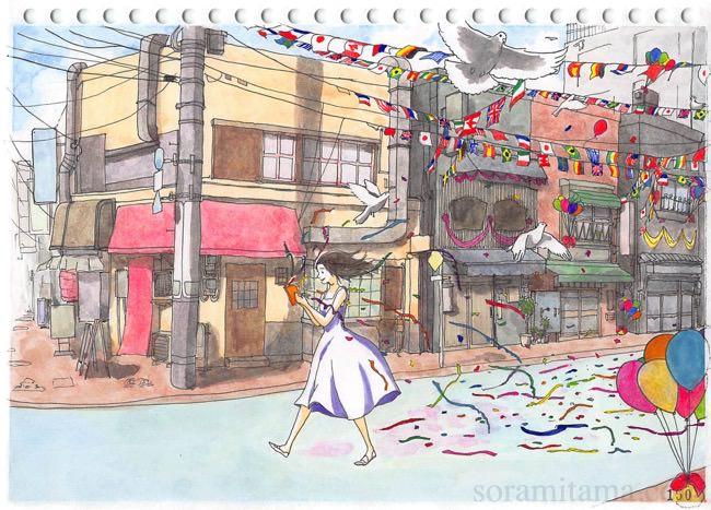 コピー用紙500枚チャレンジで絵の練習【101~150枚目】