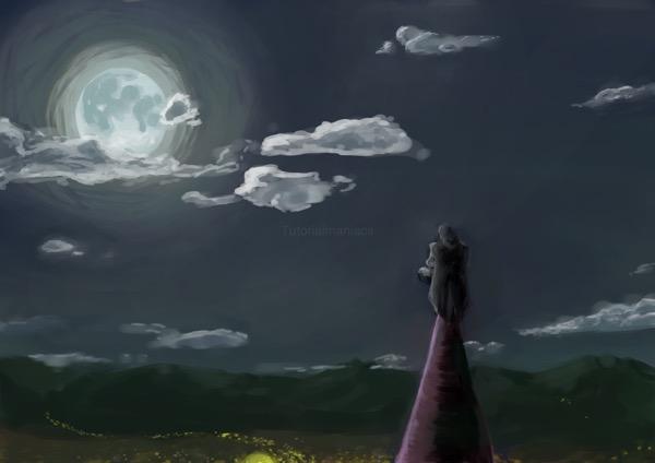 FireAlpacaで月夜を描いた。メイキング・感想・反省