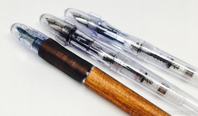 イラストや細かい字に最適。安くて極細な国内万年筆「ペン習字ペン」レビュー
