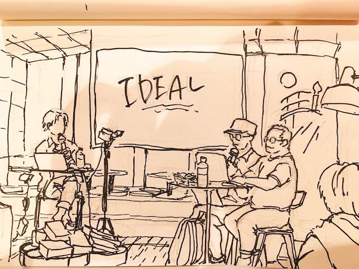 鷹野さんと三階ラボさん の IDeal マウスの話
