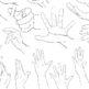 手を描く練習・練習用の資料をつくりました